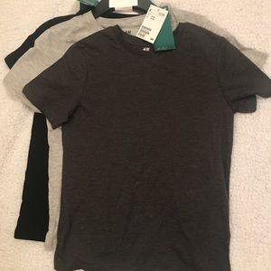 Boys H&M cotton tshirts